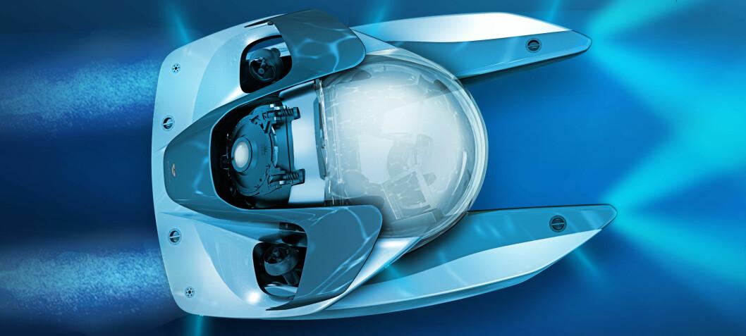 Snart kan Aston Martin kjøres under vann
