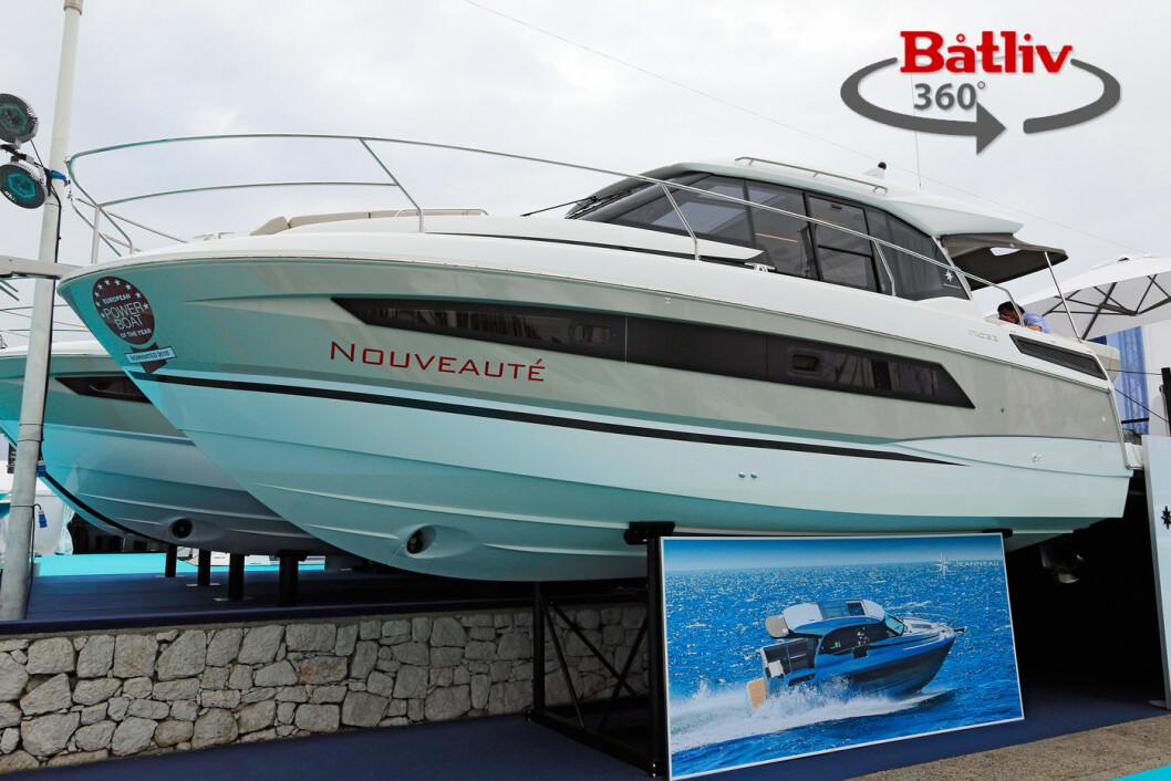 JEANNEAU NC 33: Se deg rundt i båten med Båtlivs 360-visning.