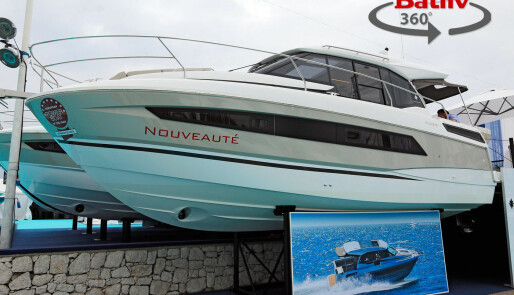 Denne båten tetter et lite hull i Jeanneaus nye konsept