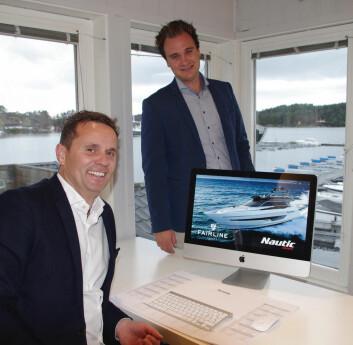 NY FAIRLINEFORHANDLER: Timingen er perfekt, sier daglig leder Ørjan Wollertsen i Nautic Norway.