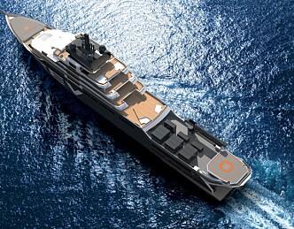 Bygger verdens største yacht