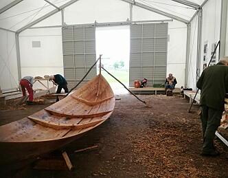 Slik restaureres en gammel båt