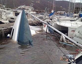 Orkan ødela 63.000 båter