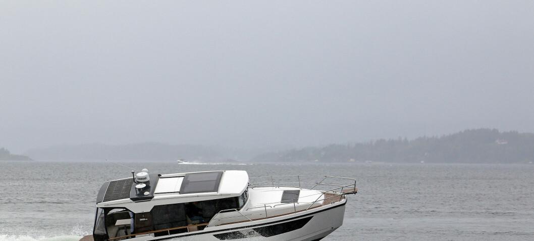 Sosial allværsbåt på 35 fot