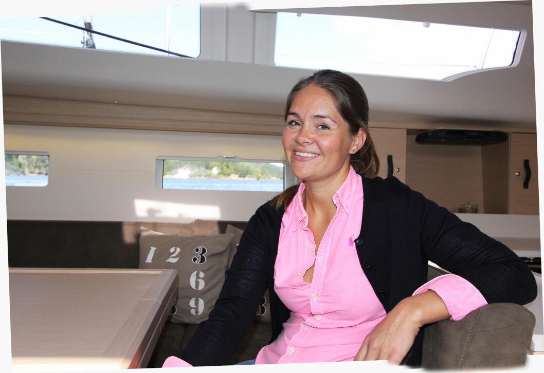 OVERTATT: Oda Lotte Heitmann Sundli har overtatt som leder i familiebedriften Heitmann Marin AS.