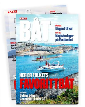 VG Båt lansert i 2017