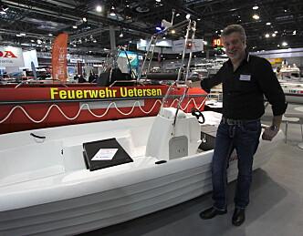 Eneste norskbygde båt