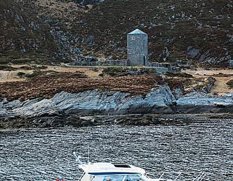 Sjødyktig møbel på sjøen