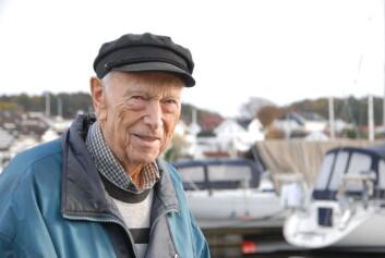 Plastbåtenes far i Norge: Herbert Waarum.