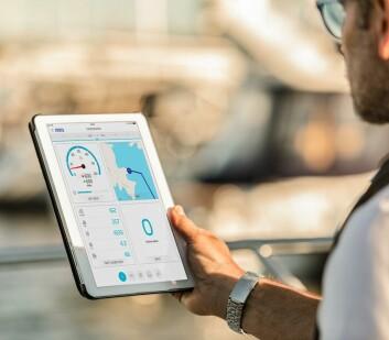 DATA: Volvo Penta lanserer en app som leser data rett fra motoren.
