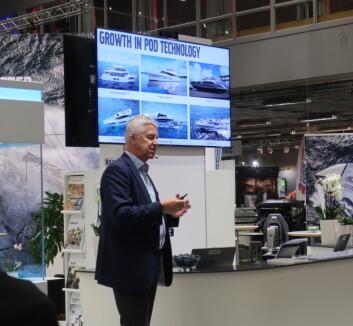 TALL: Volvo Penta fortalte om markedssituasjonen i Göteborg.