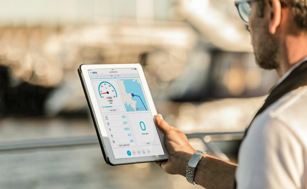 APP: Volvo Penat har lansert ett system som gjør at du får motordata på mobil og nettbrett.