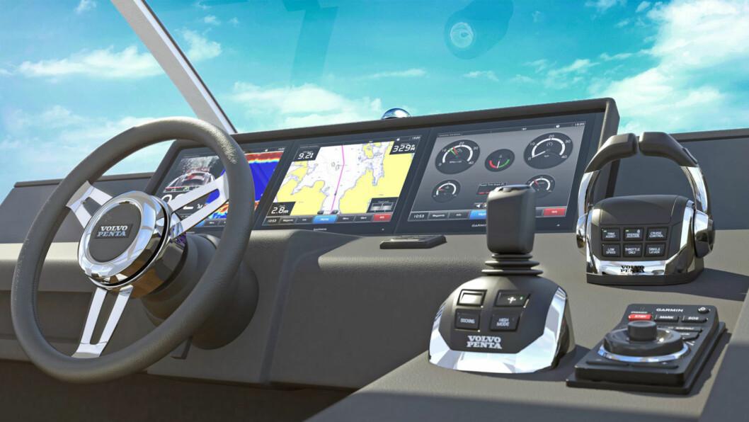 GLASSBRIDGE: Garmin samarbeider alt med Volvo. Med OneHelm blir det en rekke nye allianser.