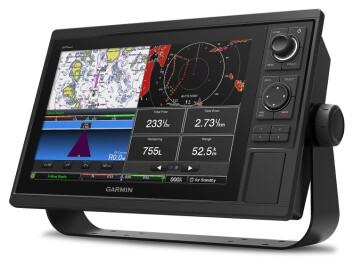 STØRRE: Garmin lanserte nye plottere med 12-tommers skjerm. I fremtiden vil skjermene få en mer sentral rolle om bord.