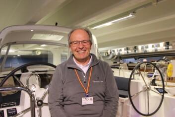 Harald Korn i Giramar på Storbåtmessen 2018.