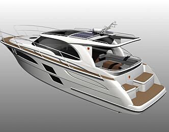 Marex 350 CC med mer uteplass