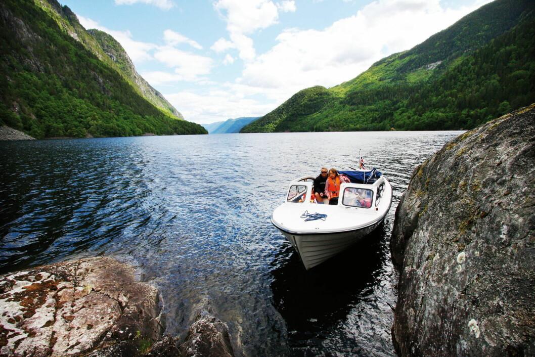 NATUREN VIKTIG: Når nordmenn nyter båtlivet kommer naturopplevelsen på en førsteplass, og fart og spenning langt lenger ned på listen.
