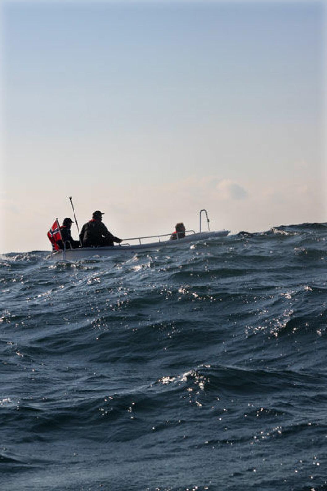 BÅTFØRERPRØVEN: Mindre andel av båtførerne har kompetanse innen båtlivet, en nedgang fra 2011, ifølge båtlivundersøkelsen.