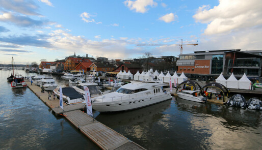 Endelig skinner sola over Tønsberg Boatshow