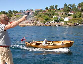 Mange gilde båter i Flostaregattaen