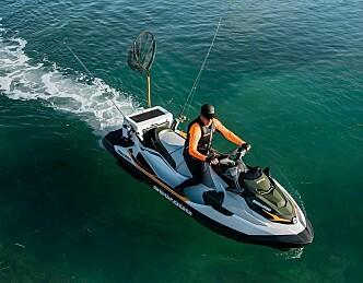 Vannscooter for fiske