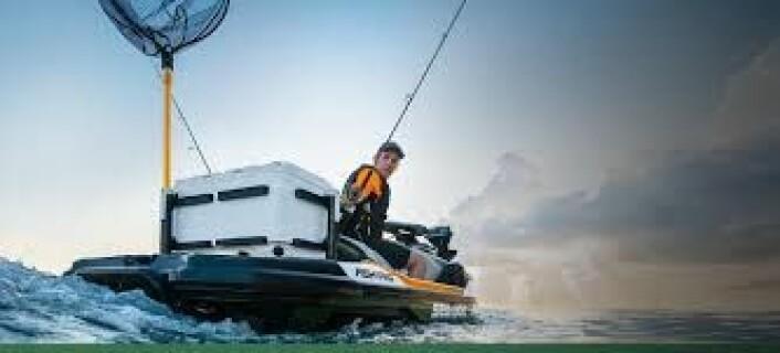 SEA-DOO FISH PRO: Første fabrikkproduserte vannscooter for fiske.