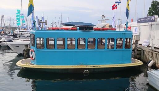 Fra strøm til diesel i Marstrand