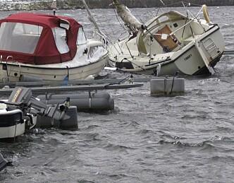 700 båter skadet