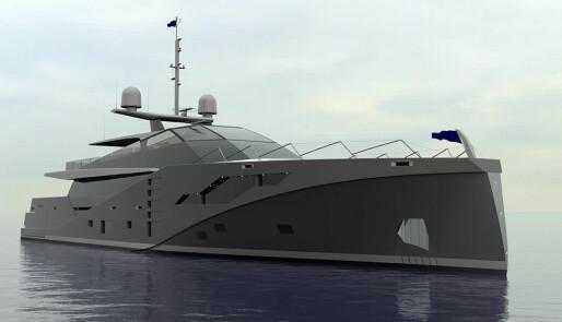 Yacht med stealth-egenskaper