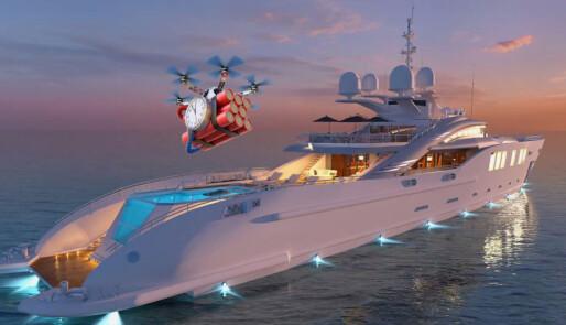 Brygger opp til dronekrig til sjøs