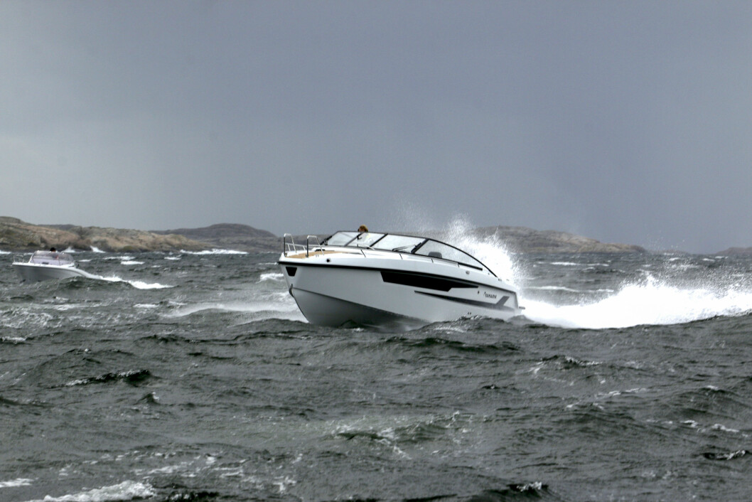 NY DAYCRUISER FRA FINLAND: Yamarin 88 DC er produsentens nye flaggskip.