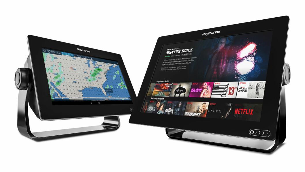 OPPDATERING: Med siste oppdatering av Lighthouse er Netflix en av appene som kan brukes til kartplotteren.