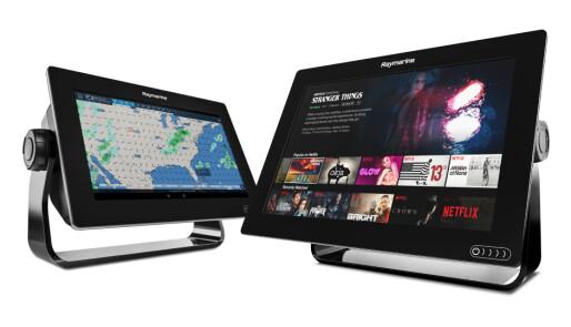 Nå kan du strømme film og musikk med kartplotteren