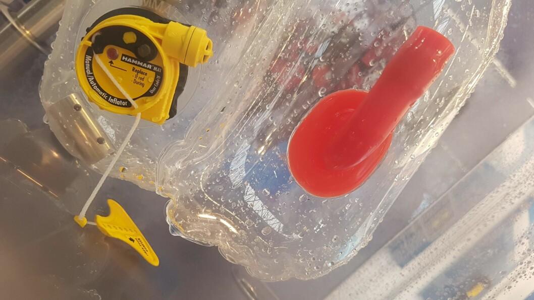 TREDJE SYSTEM: Hydrostatisk utløser er et tredje alternativ til United Moulders og Halkey Roberts.