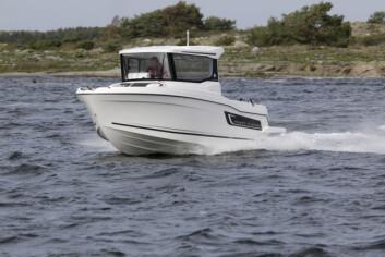 FRANSK FISKEALTERNATIV: Jeanneau Merryfisher Marlin 605.
