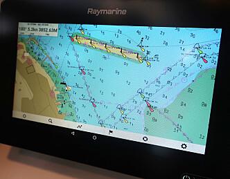 Seapilot på Raymarine gir fordeler