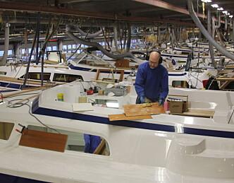 Slik bygger Hallberg-Rassy båter