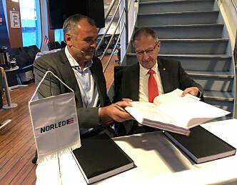 Norge får verdens første hydrogenferge