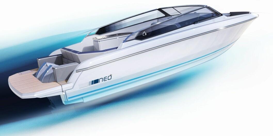 GREENLINE NEO: Den slovenske båtprodusenten lanserer flere nye båter.