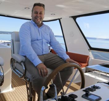 EXPLORER 58 PILOTHOUSE: Ola André Worre, eier av W-Yacht.