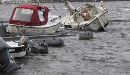 Båtskader for titalls millioner
