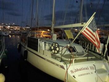AMEL52: Paret fra Trondheim fikk være med en amerikansk Amel 52 som har vært underveis i 12 år.