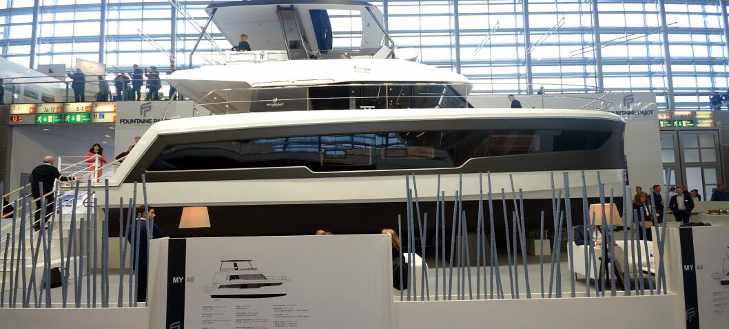 Havgående katamaran med gigantisk plass