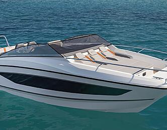 Solskinnsbåt og bobåt i ett