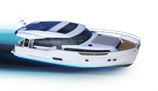 Denne båten er et lite solcellekraftverk