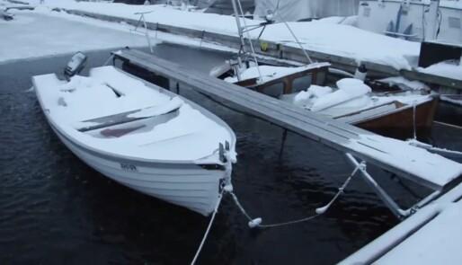 – Halvparten ser ikke til båten sin om vinteren