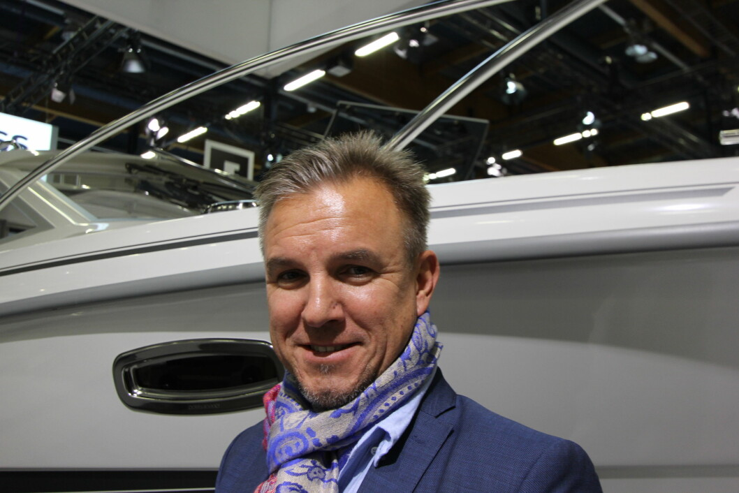 Anders Kurtén, styreleder i Finnboat.