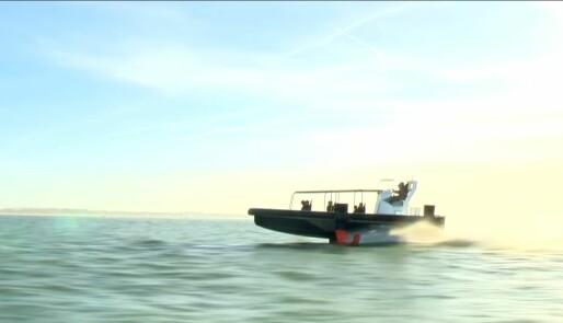 Beneteau avslører sin første motorbåt med foil