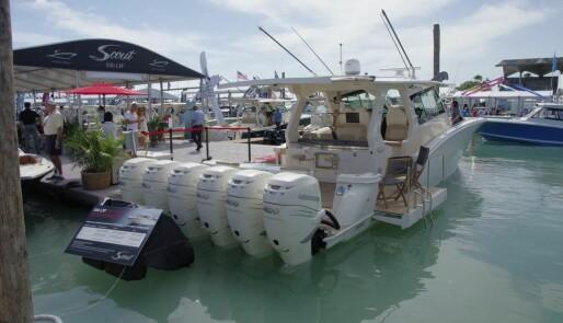 Langt unna, men lett tilgjengelig båtmesse