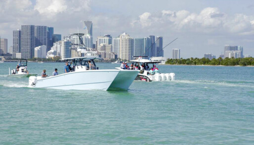 Fart, luksus og størrelse på Miami Boat Show